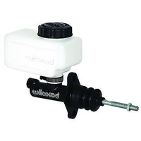 "WILWOOD COMPACT COMBINATION MASTER CYL 1-1/8"" BORE REMOTE RESERVOIR WB 260-10376"