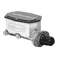 "Wilwood WIL260-14960-P Compact Tandem Master Cylinder 1-1/8"" Bore w/o Pushrod Polished"