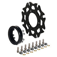 WILWOOD SPRINT INBOARD SPLINED HUB ADAPTOR KIT AXLE CLAMP DYNAMIC WB 270-10484