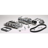 WEIAND CHEV SB POLISHED 177 PRO STREET SUPERCHARGER KIT WM6506-1