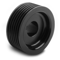 "WEIAND POWERCHARGER SUPERCHARGER PULLEY WM90636, 6-GROOVE 2.50"" Dia ."
