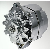 ACE 100AMP 1 WIRE CHROME ALTERNATOR GM 1955 ONWARDS WYS-WP3902C