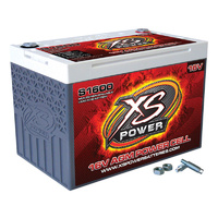 "XS Power XSS1600 16 Volt 500cca Deep Cycle AGM Battery Top Post 10.2""X6.7""X7.2"""