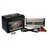 XS XP1000 16V 675CCA BATTERY + 16v 15a INTELLICHARGER COMBO PACKAGE XSXP1000CK1