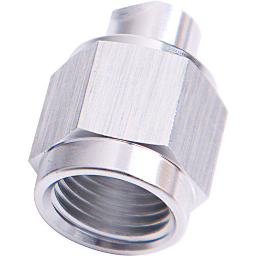 Aeroflow AF820-04S Flare Cap Female -4AN Silver -4AN Female Blank Off