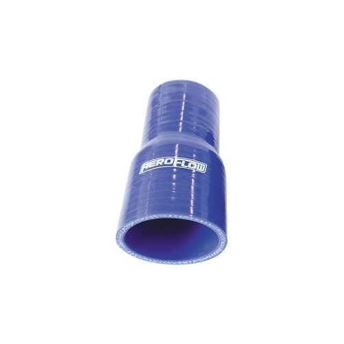AEROFLOW SILICONE HOSE REDUCER 38MM TO 28MM X 127MM LONG BLUE AF9001-150-112