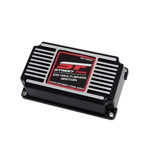 MSD STREET FIRE DIGITAL CD IGNITION BOX WITH REV LIMITER BLACK