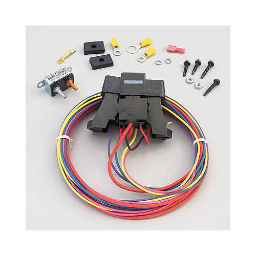 painless wiring 3 circuit auxillary fuse box pw70213. Black Bedroom Furniture Sets. Home Design Ideas